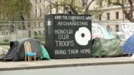 Afghanistan War protest - HD & PAL video