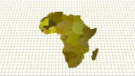 Africa Map Animation video