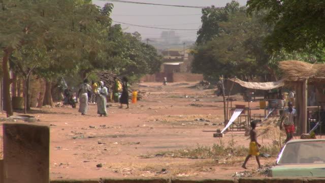 Africa street scene video
