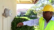 African American Smart Meter Technician MS video