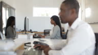 African colleagues, interacting video