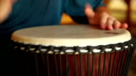 African drum video