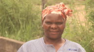African lady looking at Camera - HD & PAL video