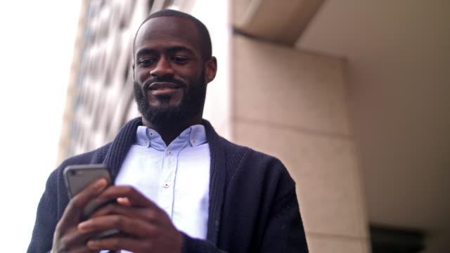 African-British businessman video