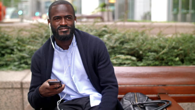 African-British city professional video