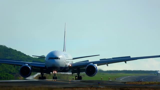 After landing video