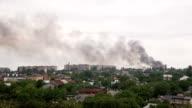 After the Artillery Strike in Donetsk video