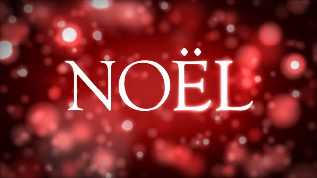 NOËL against red video