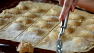 Agnolotti Pasta Cut video