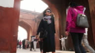 Agra Red Fort - India. video