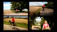 agrotourism split screen video