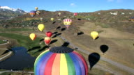 Air Balloons with Aspen background video
