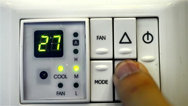 Air conditioner Digital thermostat video