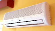 Air conditioner operating video