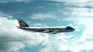 Air Force One Animation video