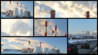 Air pollution - montage video