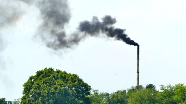 Air pollution. video