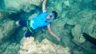 Air ring,scuba diving video