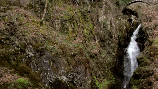 Aira Force Falls in the English Lake District, Cumbria video
