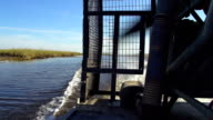 HD SUPER SLOW-MO: Airboat In The Everglades video