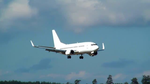 HD 1080 - Aircraft is landing video