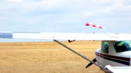 Airfield in the steppe video