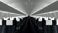 Airliner Cabin Interior video