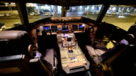 Airplane Cockpit video