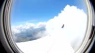 Airplane Flying Fisheye video