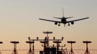 Airplane Landing Airport video