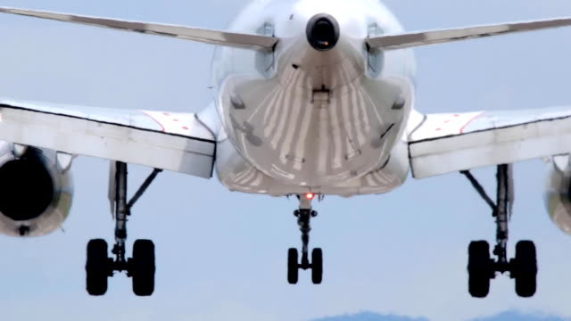 Airplane Landing at the airport. video