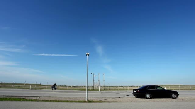 Airplane Landing + Audio video