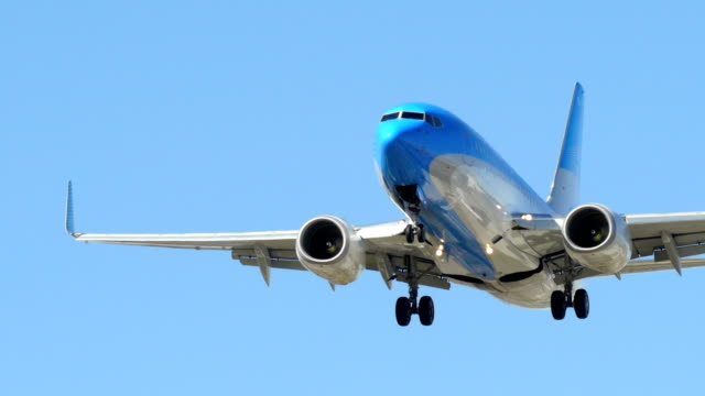 Airplane Landing video