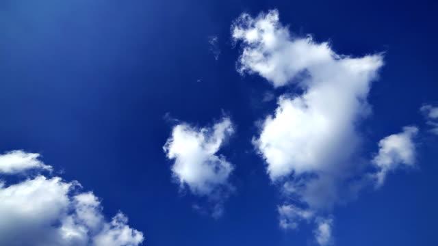Airplane on sky video