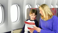 Airplane Safety video