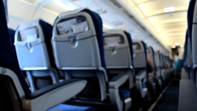Airplane seat video