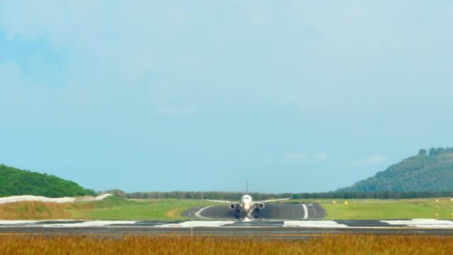 Airplane Take-off video