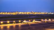 Airplane Time Lapse Airport video