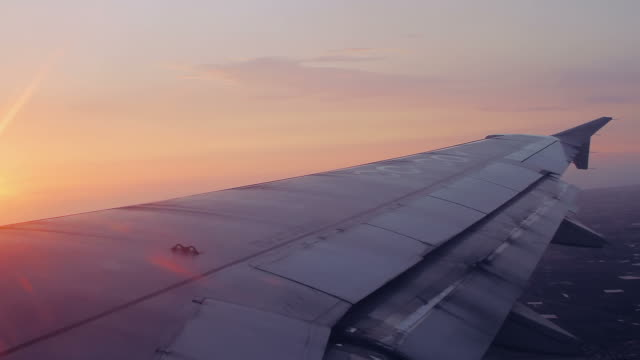 airplane wing video