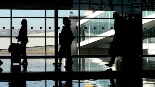 Airport Corridor video