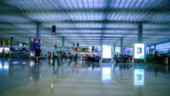 Airport Departure Hall video