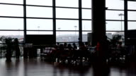 Airport Departure Lounge video