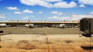 T/L Airport Gate & Jetliner video