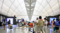Airport in the Hong Kong video