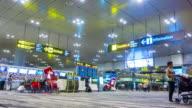 T/L : Airport Passenger Terminal video