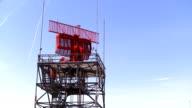 Airport Radar Tower video