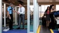 Airport security screening video