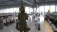 4K VDO : Airport Travelers People video