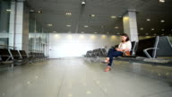 Airport Waiting Area video