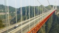 Aizhai Bridge time-lapse,China video